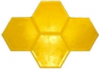 """17"""" Grouted Hexagon"""